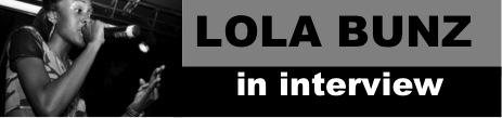Lola Bunz Blog header