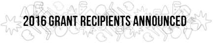 2016 Grant recipients announced-blog header