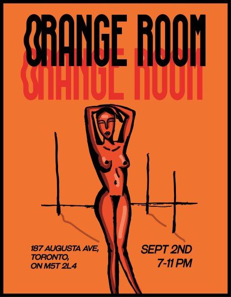 orange room poster 2